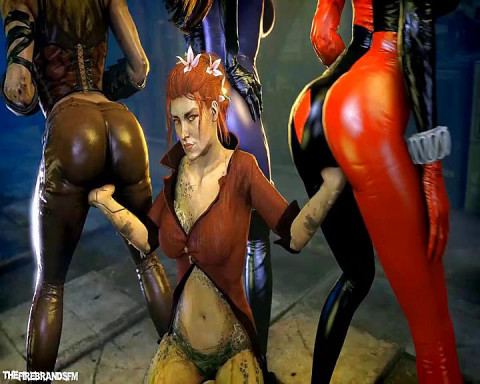 Harley Quinn In Cartoon Compilation