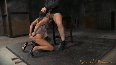 First Bondage Shoot (8 May 2015) Sexually Broken