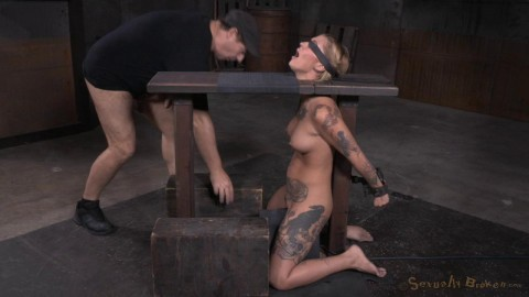 Bound & Destroyed On Sybian (Kleio Valentien) SexuallyBroken
