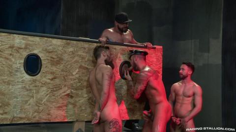 Beards, Bulges & Ballsacks!, Scene 4