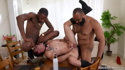 Blacks On Boys - Barret Dean, Deepdicc & Ray Diesel