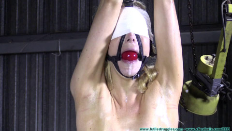 Bondage, strappado and spanking for hawt golden-haired part 2 Full HD 1080p