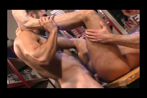 Hairy Boyz In Anal Collection
