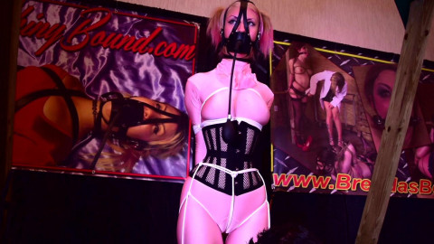 Hogtied in Pink Live at Fetishcon - Trip Six - HD 720p