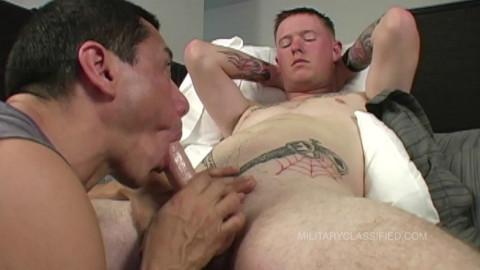 MilitaryClassified Arlo oral-stimulation