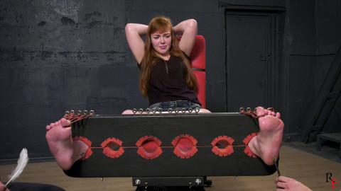 Bdsm Most Popular Insanely ticklish very large feet of Anastasia
