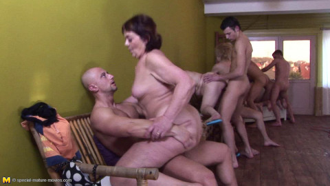 These mature sluts take it all in