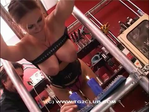 Penetration spokes and nipples squeezing boobs (2014)