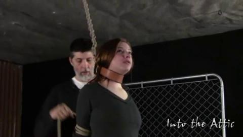 Bondage, spanking and torment for hawt undressed slavegirl part1 HD 1080p