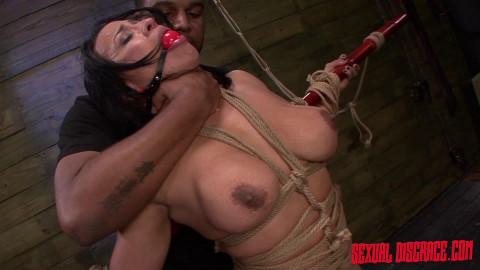 SexualDisgrace - Dec 05, 2014 - Becca Diamond Returns for More Rope Bondage and BDSM Fucking