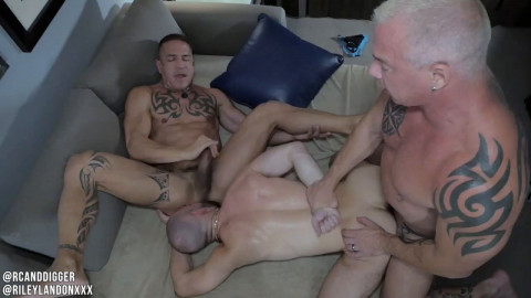 Rc And Digger - Riding Riley Part ASS TO MOUTH - Riley Landon