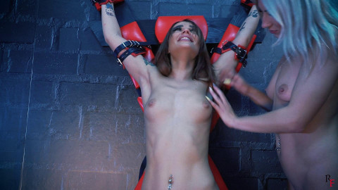 HD Pain play Sex Movie scenes Ticklish attack on the cross and revenge