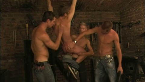 Dominate Orgy With All Night Spanking