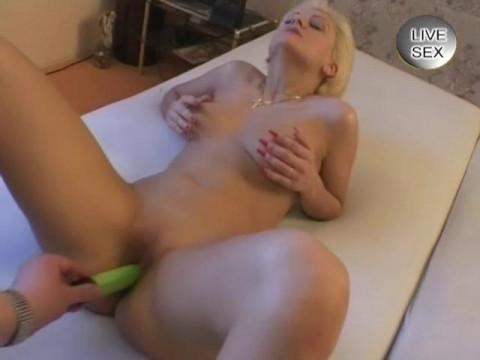 Cock and two vibrators