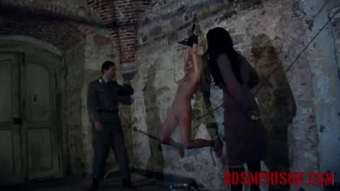 History punishment - Spy Mirela Wont Confess and Electro Play Punishment