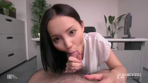 Emiri Okazaki - Sexy Idol. Office Fetish.