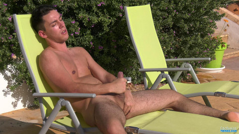 Stroking In The Sun With Maxxie
