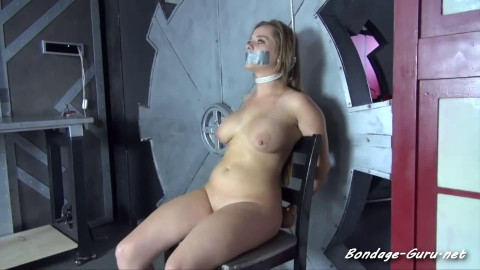 Super restraint bondage, domination and castigation for very sexy floozy HD 1080p