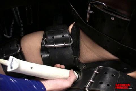 First Time Bondage Chair Orgasm (2013)