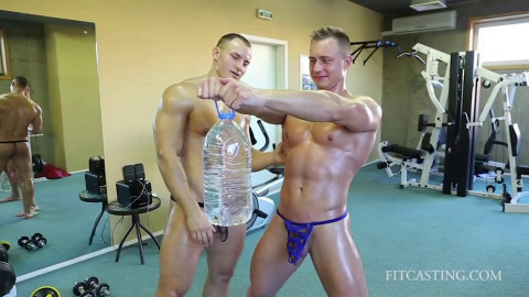 Fitcasting - Workout - Fitness Models: Ganyemede and Vova