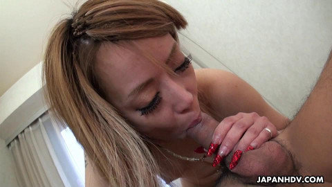 Blonde honey, yui nagahara got what that babe needed