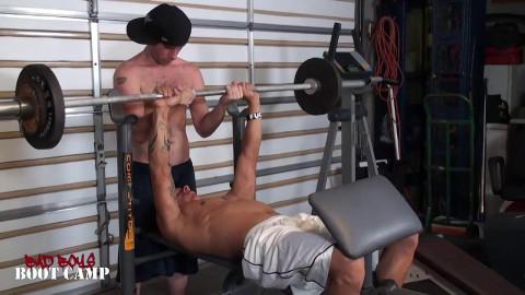 Workout Buddies Dick Suck