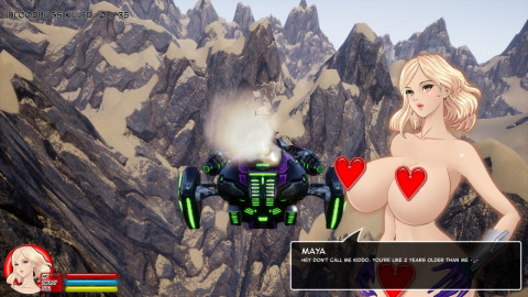 Sexy Nude Bomber Maya
