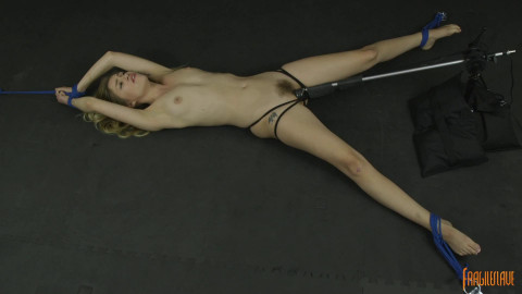 Helpless, Spread Wide And Cumming!!