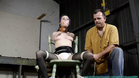 Super bondage, torture and spanking for very sexy girl HD 1080