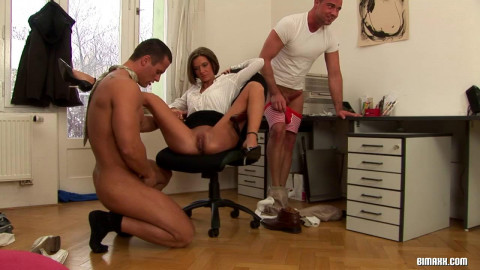 Office Fuck Turns MMF