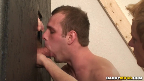 Dillinger and Jimmy Work The Glory Hole