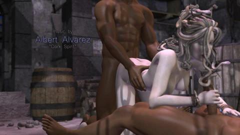 Stone Sorceress - 3d HD Video