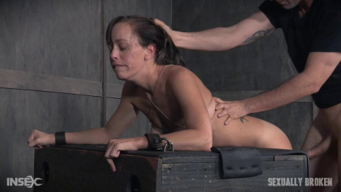 Jan 16, : Hot MILF has her tits brutally bound, her throat fucked upside down, and made to cum from