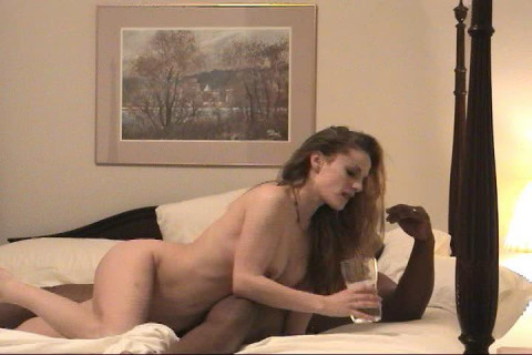 Model Wife Gets Her First Taste of BBC
