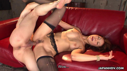 Runa sesaki receives caught and used up by her team fellas