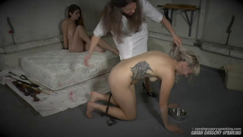 Bondage, domination and spanking for 2 sexy cuties part 1 Full HD 1080p