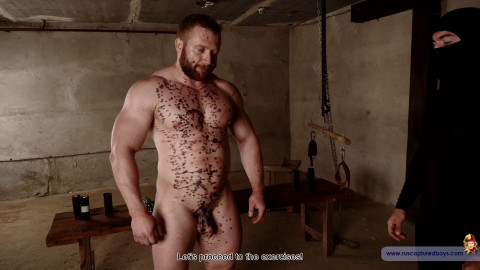 Bodybuilder Stepan Naked - Final Part from ruscapturedboys
