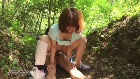 Mei Ashikawa, Aimi Nakanishi - Depraved Hike Into The Mountains.