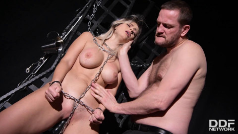Black Playroom of Anal Filling - Vittoria Dolce and Yanick Shaft - Full HD 1080p