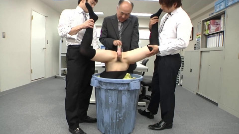 Brand New Office Girl Gets Harassed With Dick Unti