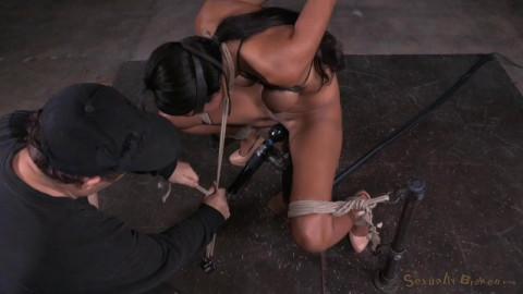 Sadie Santana Strictly Restrained In Brutal Restraint bondage