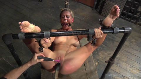Bondage, strappado, spanking and torture for bitch part 3 HD1080