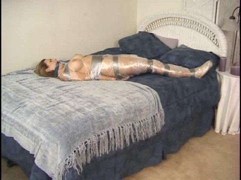 Andrea daydreams while she enters incredible bondage experiences