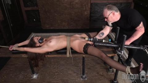 Super restraint bondage, pain and domination for hot juvenile beauty part 1 Full HD 1080