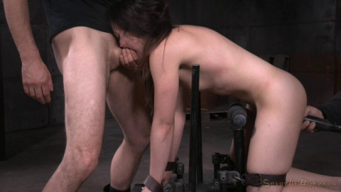 Girl next door Amy Faye bent over and bound doggystyle