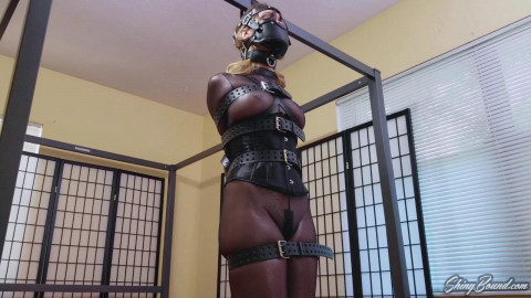 Belt Bound and Muzzled - Chrissy Marie - HD 720p