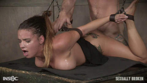 Sexy Girl Next Door has her first Bondage and rough sex experience!