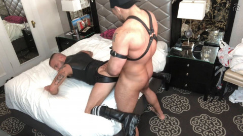 Leather And Submission - Jaxx Thanatos And Sean Harding