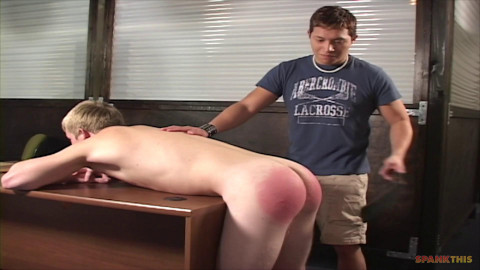 Spankred at work part 3 - Baileey spanks Dimitri