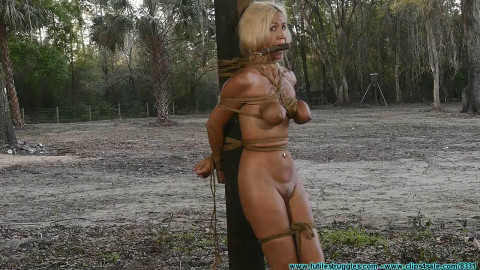 Tied To a Post In The Dilapidated Barn - Amanda Foxx - Part 2 - HD 720p